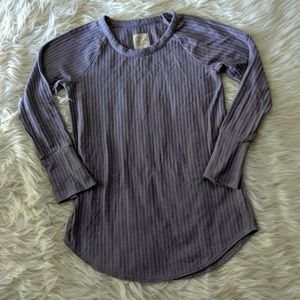 Chaser Waffle Knit Thermal Top